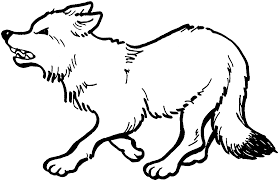 wolf coloring pages wolves hunting coloringstar