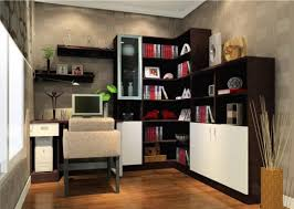 amazing book shelf for small office ideas with sweet picture side