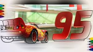 cars 3 lightning mcqueen 95 coloring pages for children with