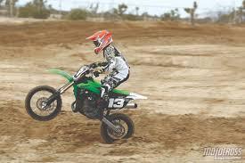 motocross dirt bikes motocross action magazine mxa u0027s 85cc shootout tc85 vs kx85 vs