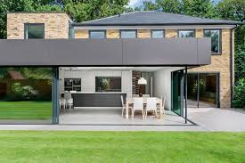 Modern Home Design New England Modern Extension Enriches Neo Georgian Home In London