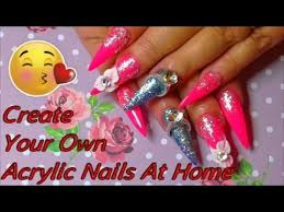 how to create your own beautiful acrylic nails at home absolute