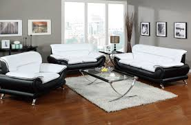 nice looking white living room set excellent ideas white leather