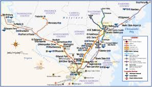 Greyhound Routes Map by Transit Maps Maryland Transit Administration