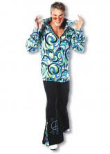 Flower Power Halloween Costume Flowerpower Mens Suits Men Fashion Hippie 70s Mens Suit Horror