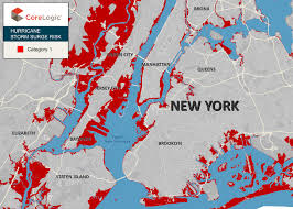Zip Code Map Brooklyn by Corelogic Top 25 Zip Codes In Nyc At Risk Of Property Damage From