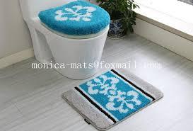 5 Piece Bathroom Rug Set by 5 Pieces Microfiber Bath Rug Set Buy Find Complete Details About