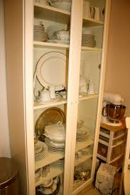 Kitchen Cabinet With Hutch Tips Classic Interior Wood Storage Ideas With China Cabinet Ikea