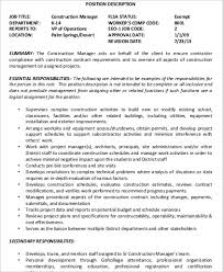 Construction Management Resume Examples by Online Writing Lab Sample Resume Office Manager Construction