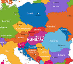 Blank Europe Map by Hungary Map Political Hungary Map Outline Blank