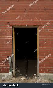 Keyhole Doorway by High Resolution Open Doorway On Brick Stock Photo 11982157