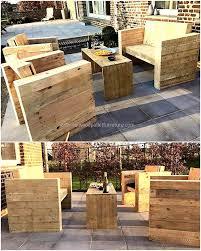 Pallets Patio Furniture - repurposing plans for shipping wood pallets wood pallet furniture