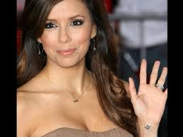 Eva Longoria Tattoos Designs