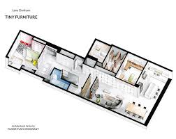 Plan Set Watercolor Floorplans From Recent Television Shows And Films