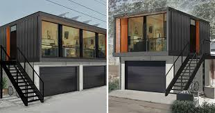 Building A Garage Apartment You Can Order Honomobo U0027s Prefab Shipping Container Homes Online