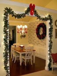 Christmas Home Decorations Pictures Full And Thick Our Cordless Majestic Wreaths And Garlands