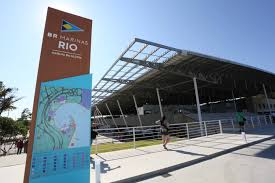 new look sailing venue for rio 2016 olympic opens doors to public