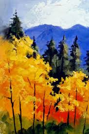 Fall Landscaping Ideas by Painting Acrylic Landscapes The Easy Way Cebuflight Com