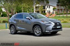 2016 lexus nx road test 2015 lexus nx 300h luxury review video performancedrive