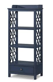 Klaussner International Honeysuckle Etagere With Shelf And Drawer Storage By Trisha