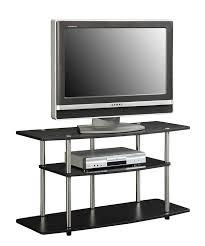 amazon com convenience concepts designs2go 3 tier wide tv stand