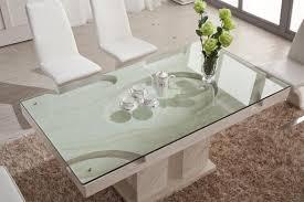 fashonable beige fur dining room rug decoration under dining table