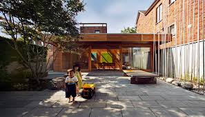 courtyard house toronto by unique home plans simple newest small