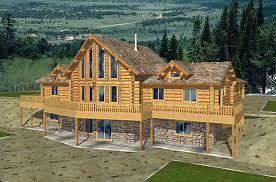 log cabin plans with basement webshoz com