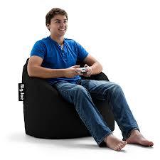 Big Joe Lumin Camo Bean Bag Chair Amazon Com Big Joe Milano Chair Stretch Limo Black Kitchen U0026 Dining