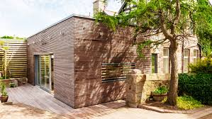 Stone Cladding For Garden Walls by 49 Exterior Wood Cladding Ideas Kebony