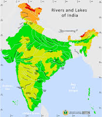 China Topographic Map by Rivers And Lakes Topographic Map Maps Of India