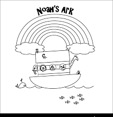 extraordinary bible noah ark printable coloring pages with arts