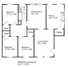 3 Bedroom Apartment Floor Plan Landmark Square Apartments Rentals Erie Pa Apartments Com