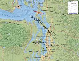 Thousand Islands Map Seattle U0027s Faults Maps That Highlight Our Shaky Ground Kuow News
