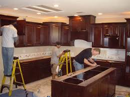 How To Install Kitchen Wall Cabinets by Simple Instal Kitchen Cabinets Greenvirals Style