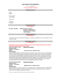 Resume Format Nursing Job by Qualifications Resume General Resume Objective Examples Thesaurus