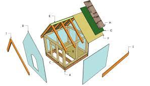 simple dog house plans myoutdoorplans free woodworking plans