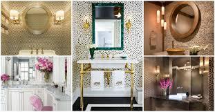 Small Powder Room Wallpaper Ideas Stylish Powder Room Decor Ideas For A Greater Enjoyment