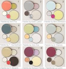 Color Swatches Paint by Color Palettes For Home Interior Classy Design Paint Color Ideas