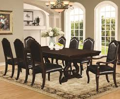 bedford 9 piece dining table chair set coaster 105601 105602 105603