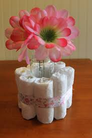 Boy Baby Shower Centerpieces by Diy Baby Shower Centerpieces Using Diapers Frugal Fanatic