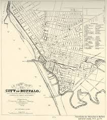 Map Of The Ohio River by Buffalo U0027s Historic Canal System