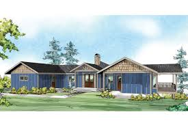 Ranch Style House Plans by Prairie Style House Plans Edgewater 10 578 Associated Designs