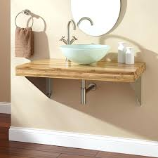 Modern Walnut Bathroom Vanity by Bathroom White Single Sink Vanity Simple Walnut Wall Mounted