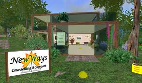 Figure    New Ways is a private practice  located in Second Life  that