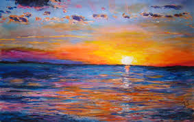 peinture de bord de mer mer les peintures d u0027isabelle