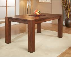 modus meadow solid wood extending dining table brick brown