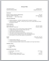 Wonderful Non Experienced Resume Examples   Brefash   sample resume with no experience