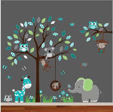 Tree Decal For Nursery Wall by Nursery Wall Decal Tree Decal Children Wall Decal Nursery