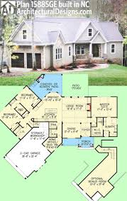 Two Story Craftsman House Plans Plan 15885ge Affordable Gable Roofed Ranch Home Plan Craftsman